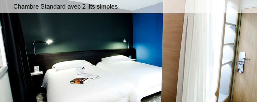 hotel Chambre Standard avec 2 lits simples