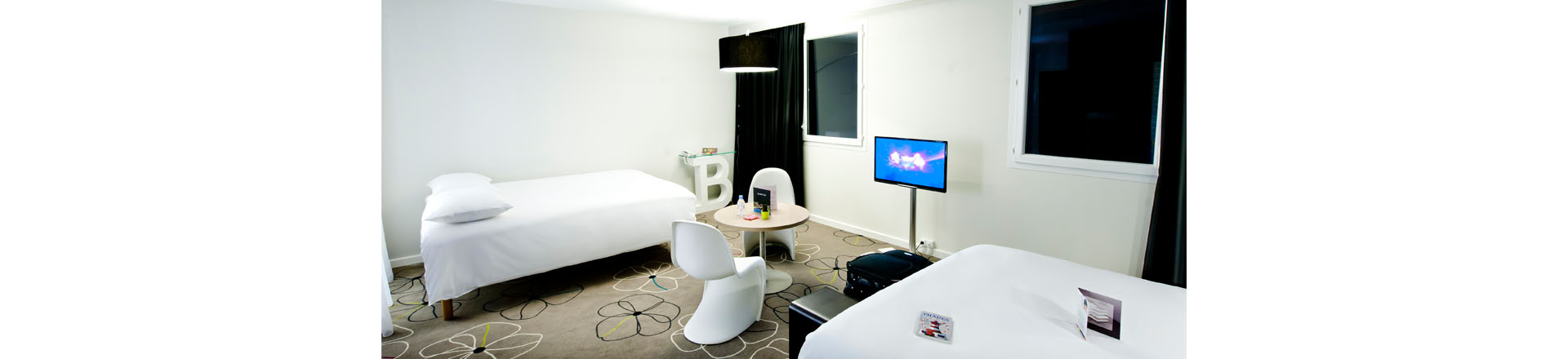 Hotel chambre double 2 lits brest