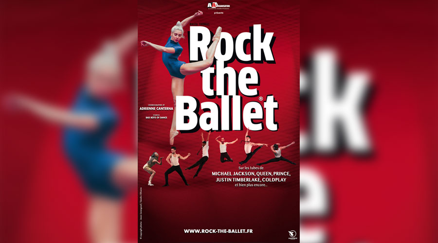 hotel ibis brest spectacle rock the ballet